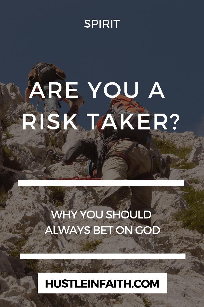 Why you should always bet on God. | Christian lifestyle