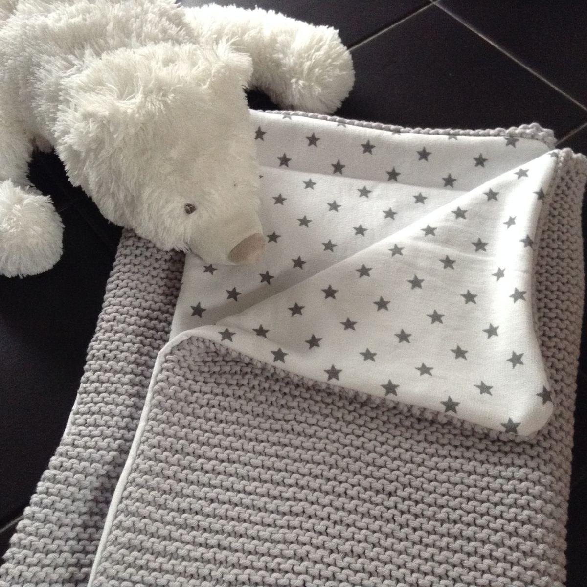 couverture bébé laine tricotée main Couverture bébé au tricot doublée | Naissance de bébé, Couvertures  couverture bébé laine tricotée main