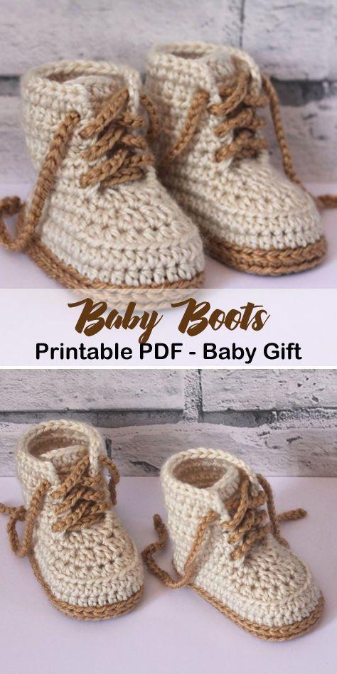 Photo of Machen Sie ein süßes Paar Babyschuhe. Häkelanleitungen für Babyschuhe – Häk …