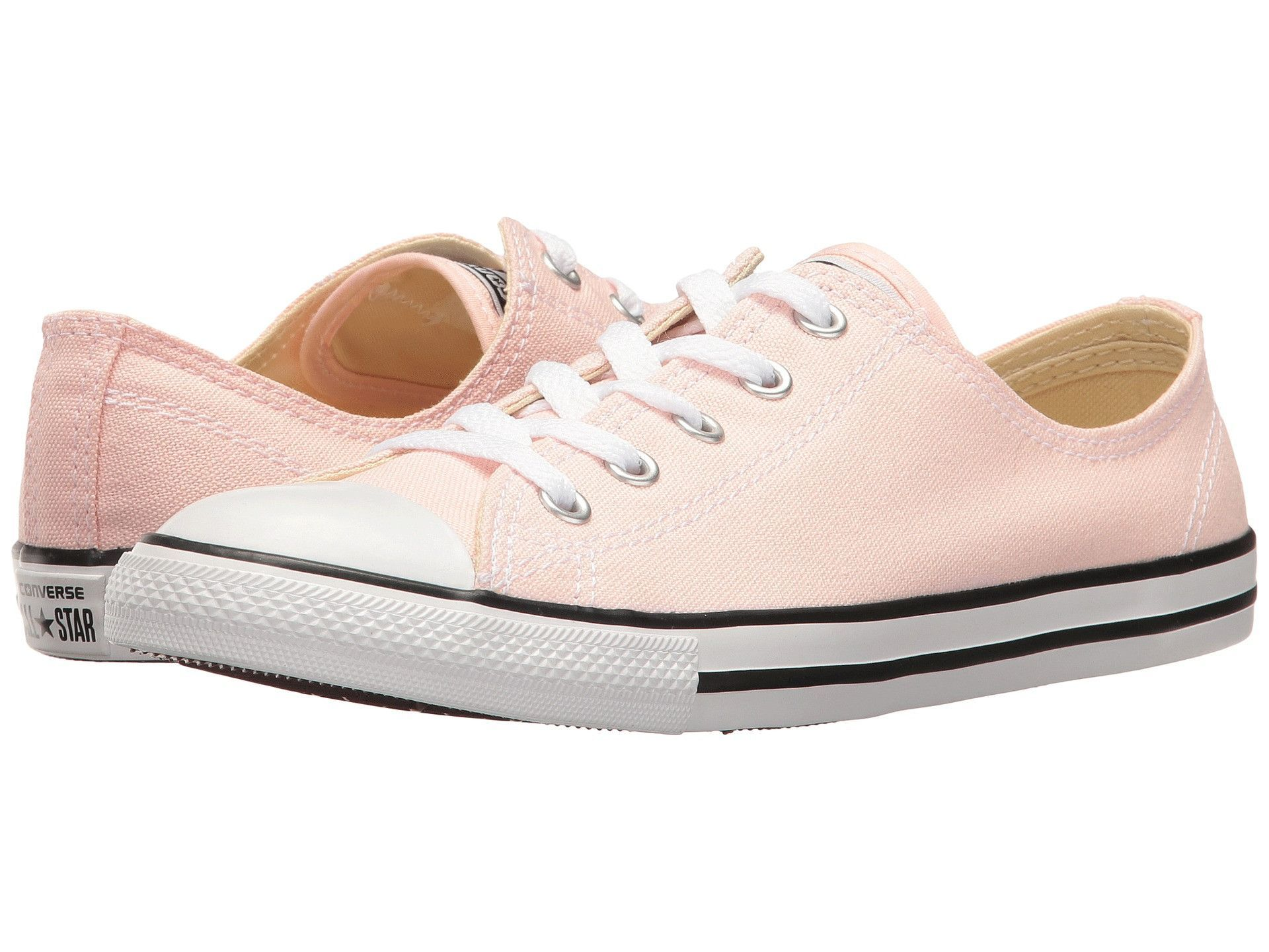 converse chuck taylor all star dainty peached canevas ox