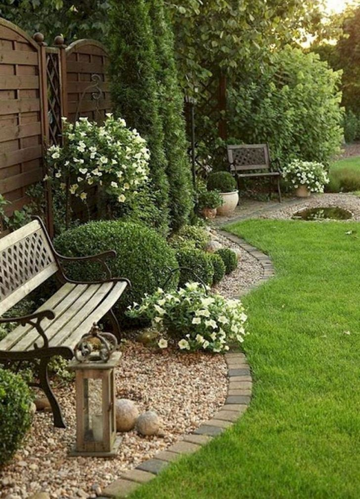 Front yard landscaping design with bench - DECOR IT'S,  #Bench #Decor#bench #decor #design #front #l