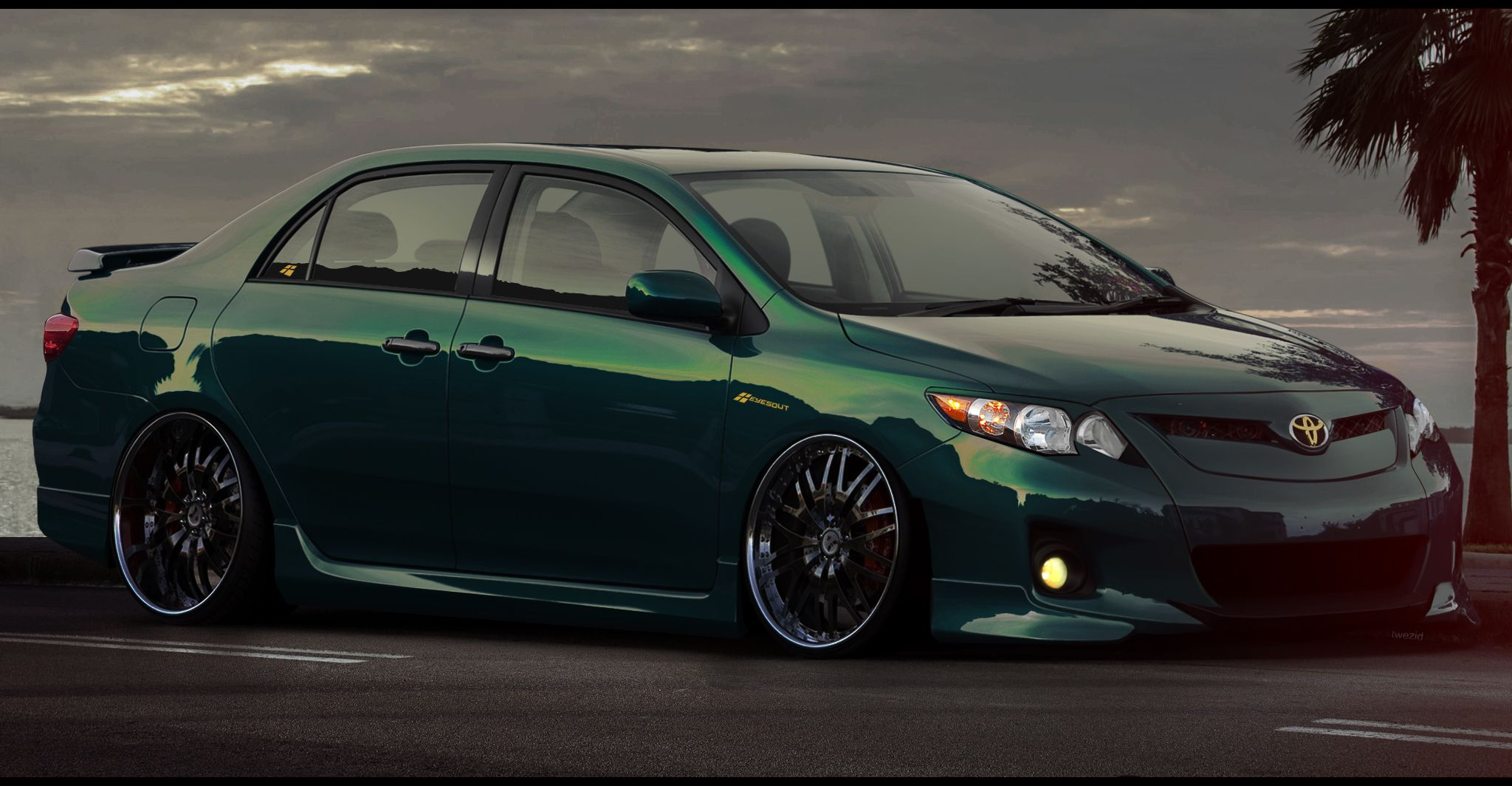 2013 corolla with body kit | Downloads | Cars | Pinterest | Toyota ...