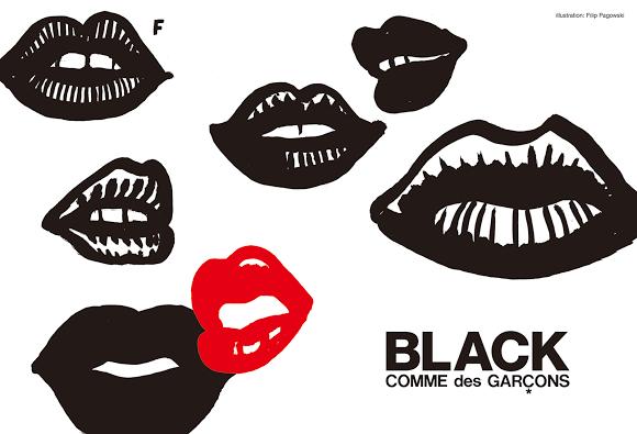 7d4b3b612d69 BLACK COMME des GARCONS   illustration  Filip Pagowski
