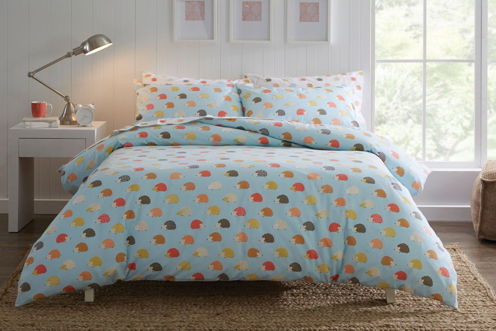 Morgan & Finch hedgehog quilt cover from Bed Bath and Table | BM ...