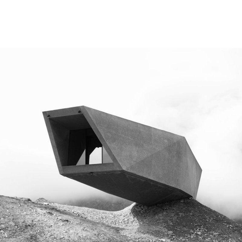 Werner Tscholl. Mountain Pass Museum Timmelsjoch