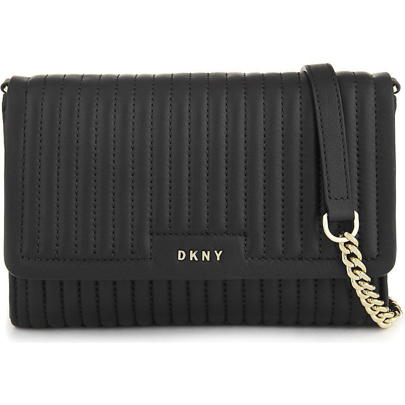 DKNY Gansevoort Quilted Leather Small Cross Body Bag - £170.00 ... : dkny black quilted purse - Adamdwight.com