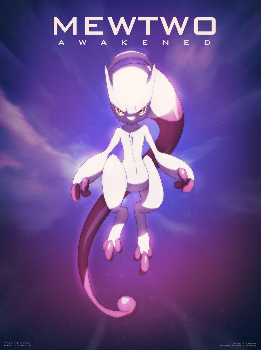 Pokemon XY | New Mewtwo Form by moxie2D on DeviantArt | Smash ...