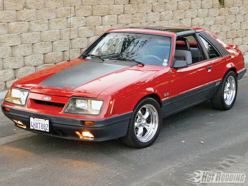 Foxbody Mustang Fox Body Mustang Pony Car Ford Mustang Fastback