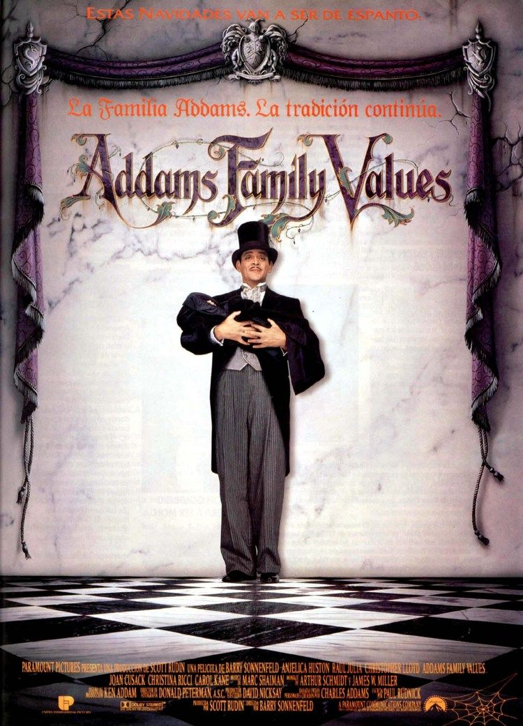 Gomez & Pubert | Addams family movie, Addams family, Addams family values