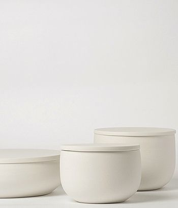 *pots, containers, vases, decoration, minimal, design, white* -  lilith rockett