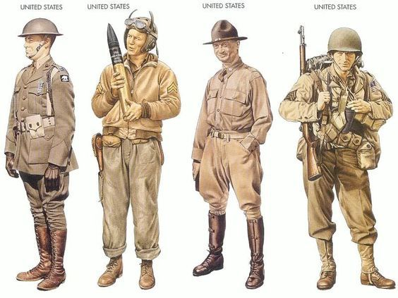 World war ii uniforms united states 1941 dec pacific ocean ultimate world war ii and againmore military uniforms from the countries that participated in world war ii publicscrutiny Choice Image