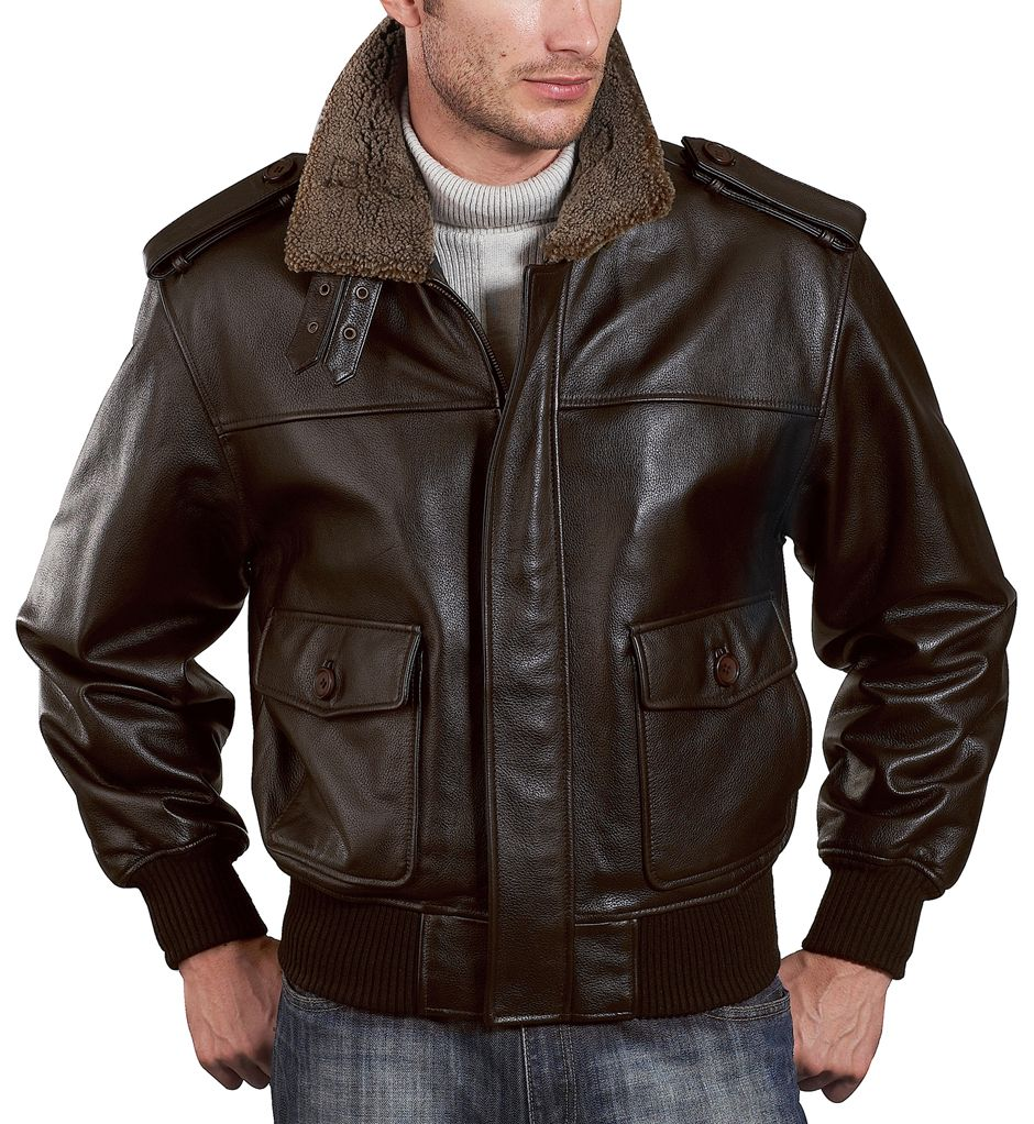 Salute to the great military style of the Landing Leathers Men's Cowhide  Leather Flight Jacket for