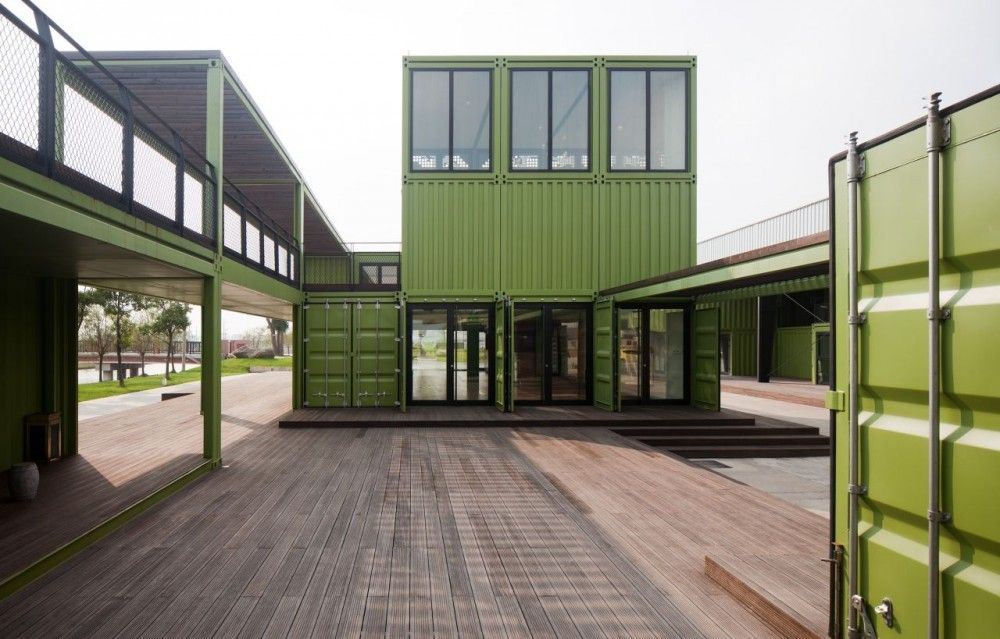 shipping container architecture: tony's farm | container