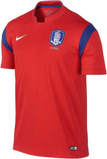 35b36da6650 South Korea 2014 World Cup Home Kit Released + Away Kit Leaked - Footy  Headlines