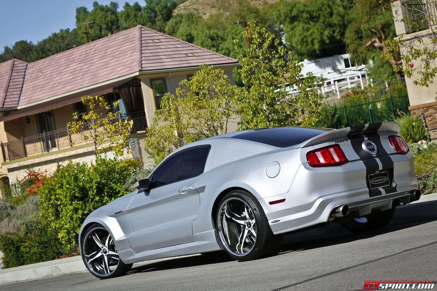 Widebody Ford Mustang Gt With F2 05 Forgiato Wheels Ford Mustang