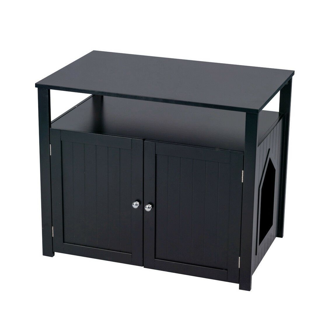 Pets In 2020 With Images Litter Box Enclosure Hiding Cat