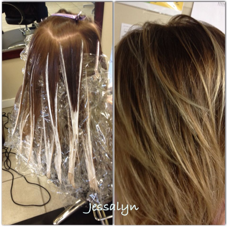 Some hair stylist just dont get how to do this!! Balayage technique ...