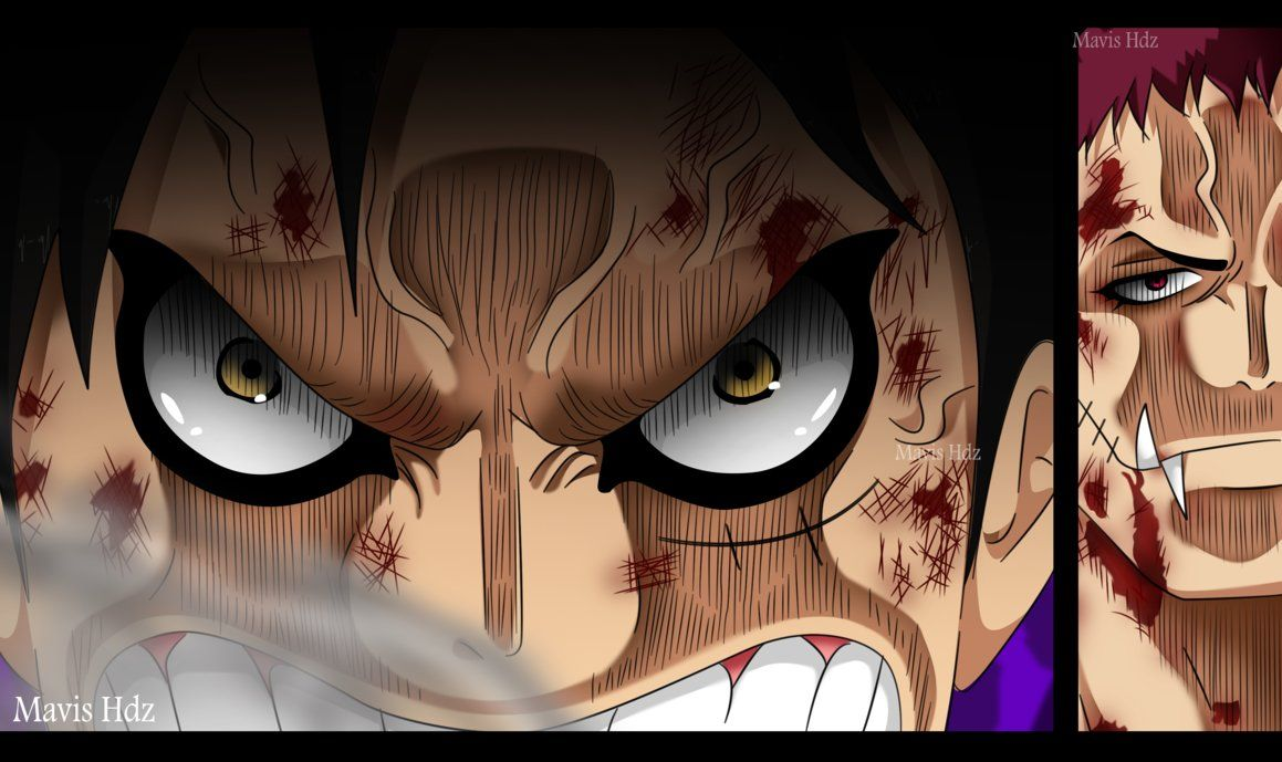 In the one piece manga series which is currently at the wano arc, luffy has been defeated two times consecutively by kaido. Snake Man Luffy Vs Katakuri Manga Peepsburgh