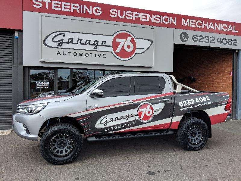 King Shocks Oem Series Suspension Lift Kit Toyota Hilux N80 2015 Current Garage76 Toyota Hilux Toyota Lift Kits