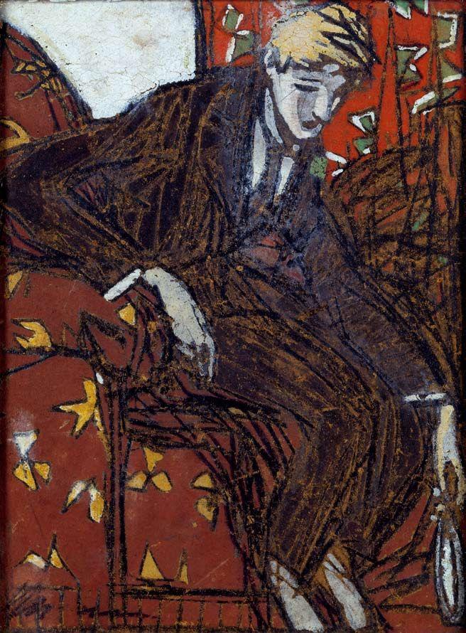 Cristiano Cruz (1882–1951) /cristiano-cruz--auto-retrato./1916