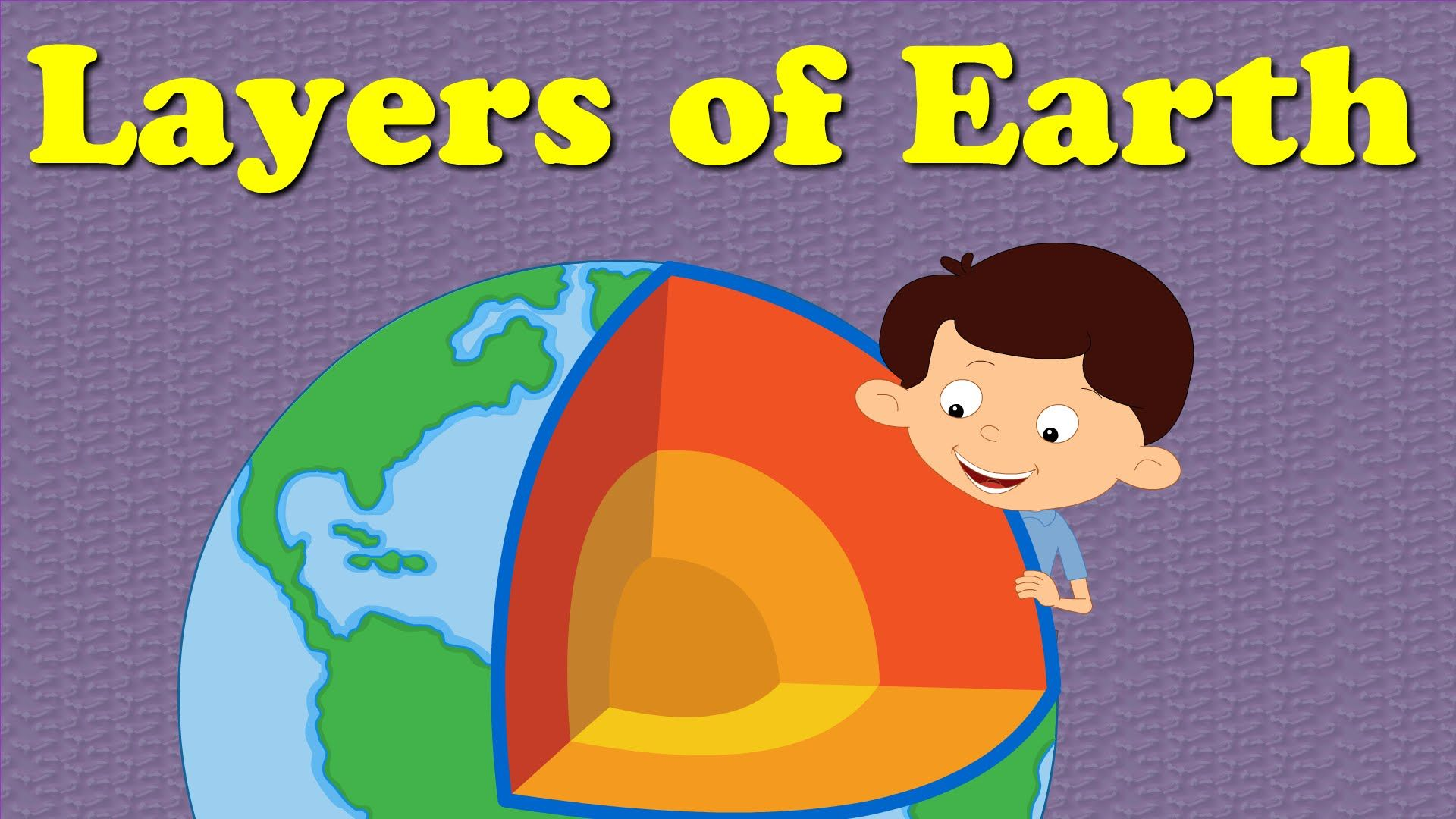 The Earth's Layers - easyscienceforkids.com