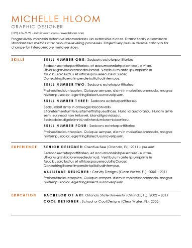 Substantial Resume Template  Getting My Dream Job