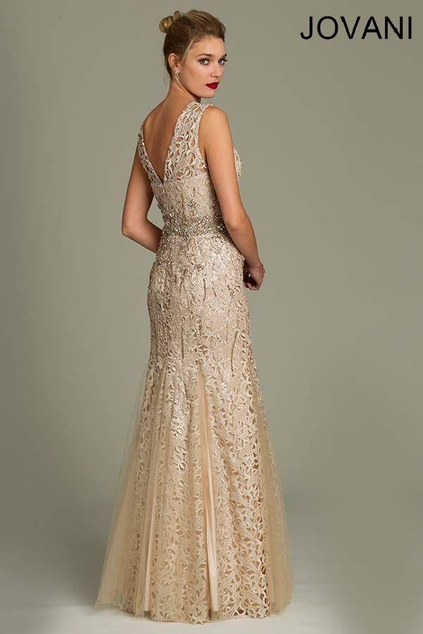 Jovani evening dress 78487 evening dresses for Jovani mermaid wedding dresses