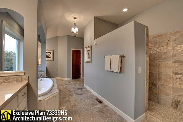 Plan 73339Hs Storybook House Plan With 4 To 6 Bedrooms  Half Awesome Exclusive Bathrooms Designs Inspiration Design