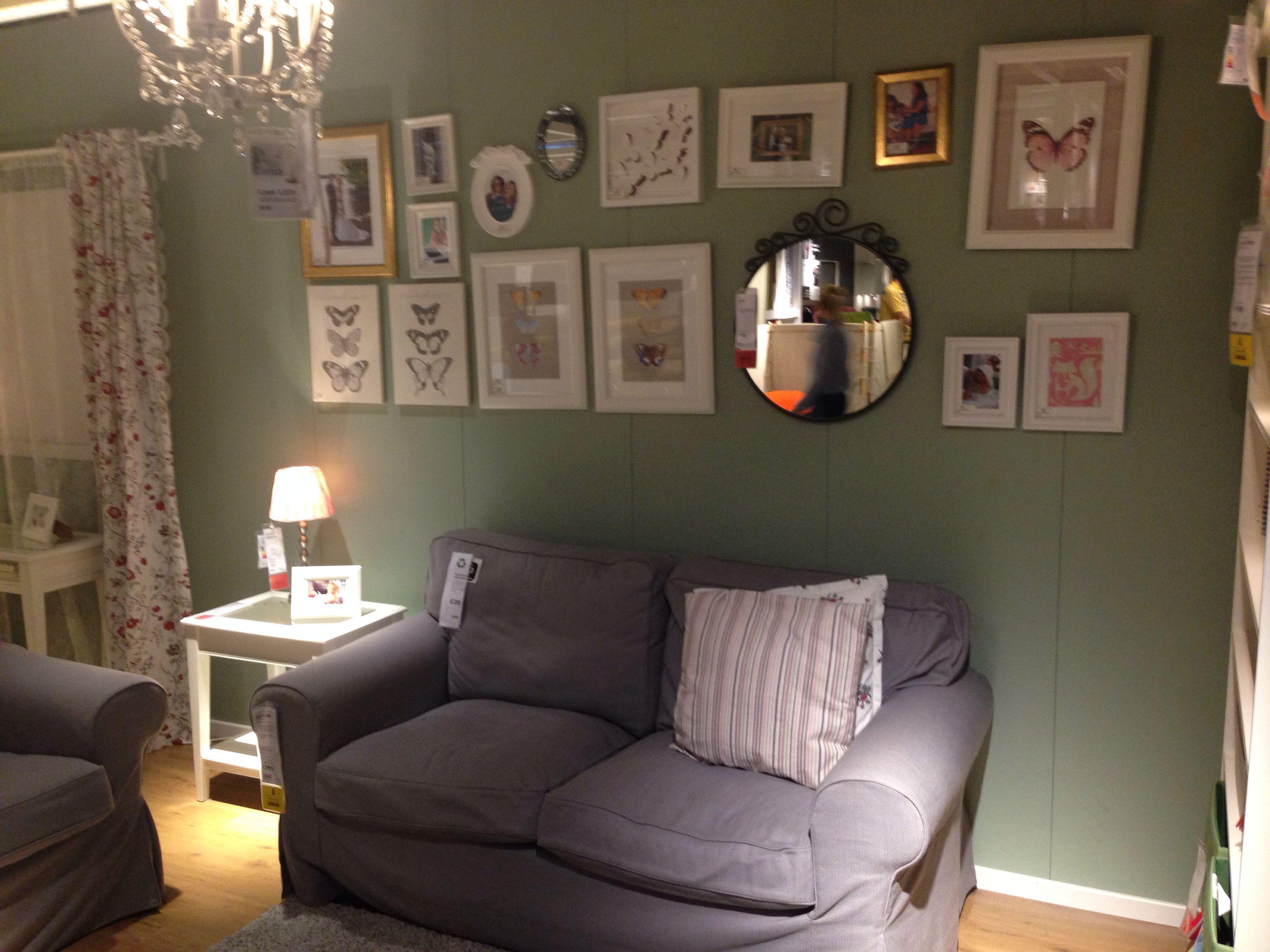 Frames on the wall @ikea #ikea