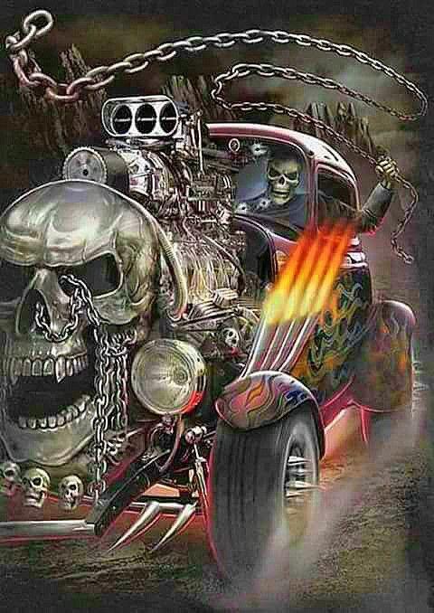 Skull Wallpaper Backgrounds Skeleton Art Badass Skulls Grim Reaper Tattoos Cool Dark