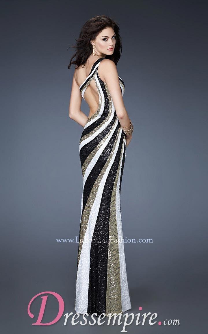 La Femme 18580 Dress | DressEmpire.com | Miss Black Hampton Roads ...