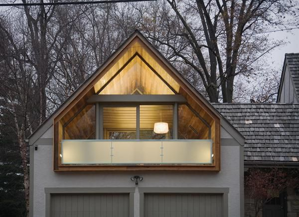 Over Sized Garage Roof Renovation Creates An Additional