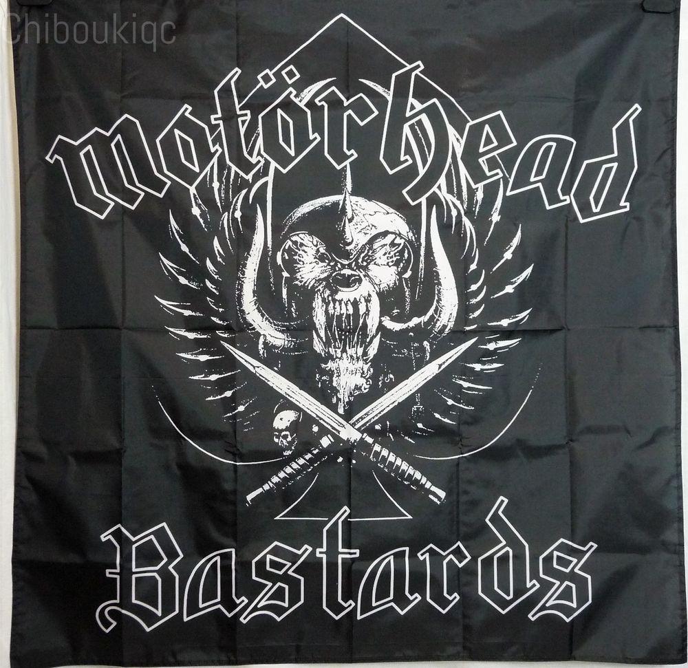 MOTORHEAD Bastards HUGE 4X4 BANNER poster tapestry album cd