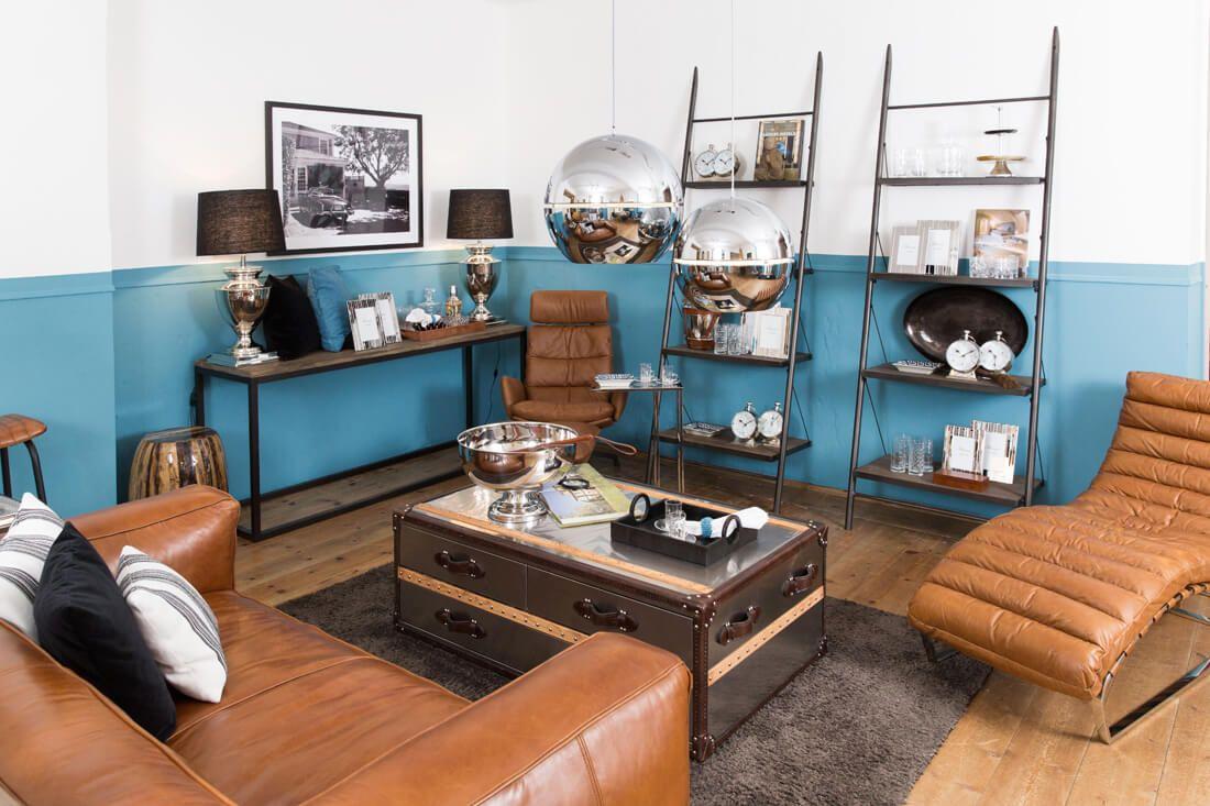 Clubzimmer Moderne Eleganz Von Flamant Leder Möbel Design Für Zuhause Wohnaccessoires