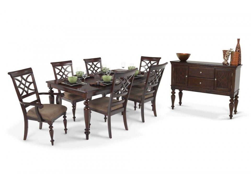 Best Woodmark 8 Piece Dining Set Bobs Furniture Living Room 400 x 300