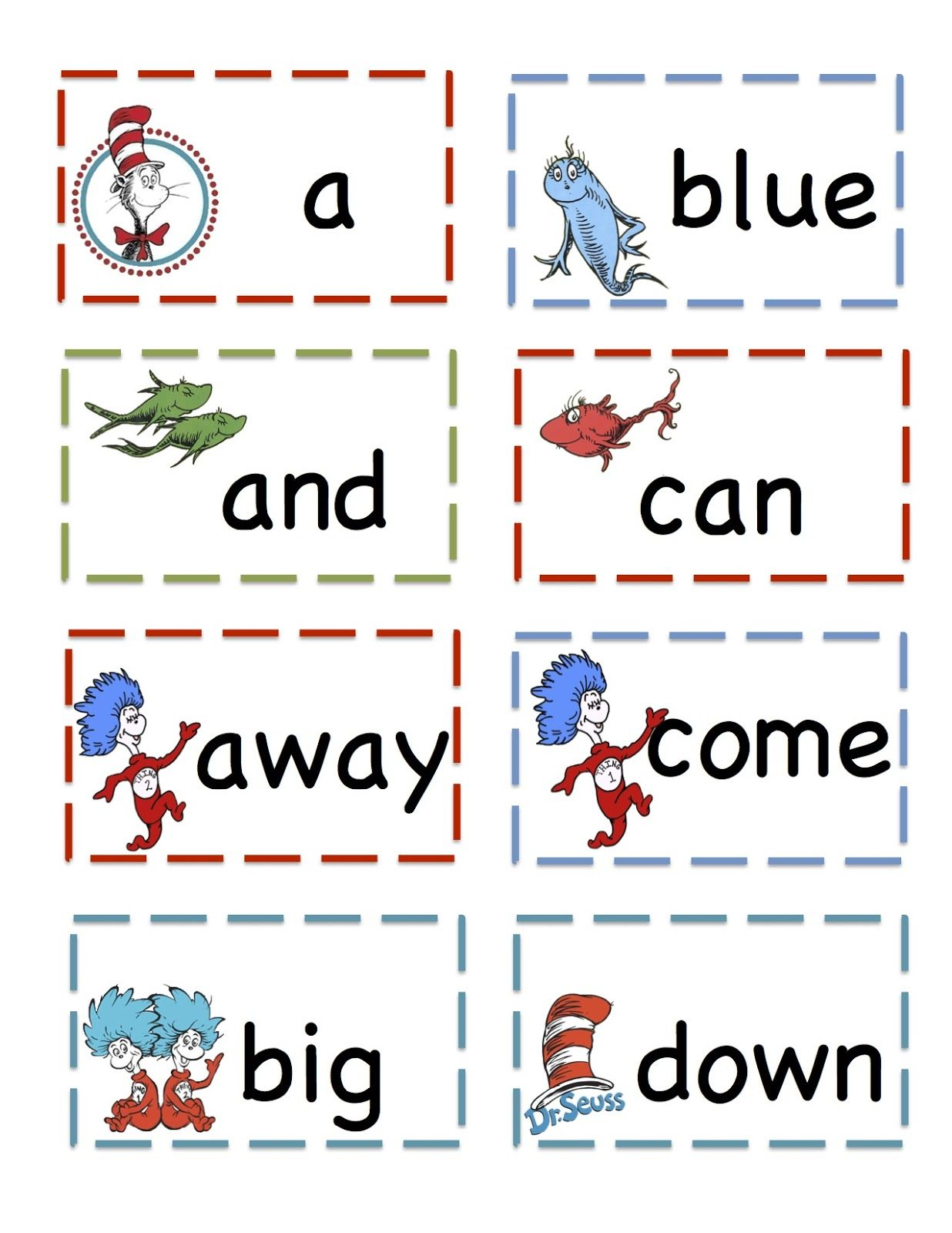 Preschool Printables That Cat Pre Primer Sight