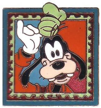 Disney's Goofy Stamp Retired Pin