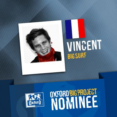 Vote for his project: http://www.oxfordbigproject.com/en/project-nominee/big-surf
