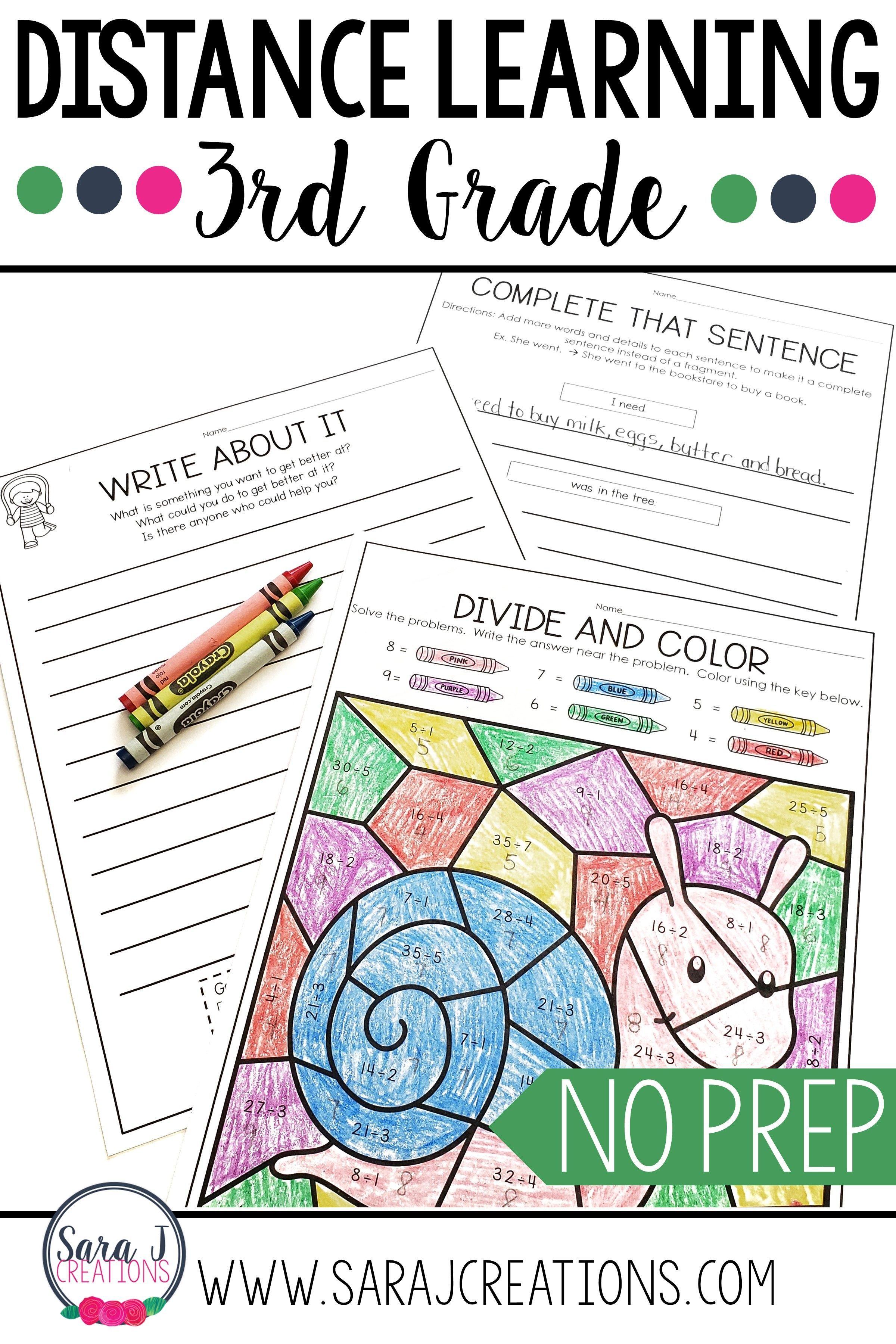 Summer Reviews PreK-4th Grade in 2020   Summer school work [ 3600 x 2400 Pixel ]