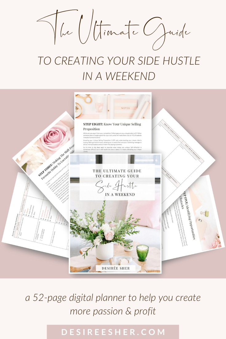 Have You Always Dreamed Of Starting A Side Hustle But You Had No Idea Where To Start Check Out My Digital Planner The Ul Side Hustle Making Extra Cash Hustle