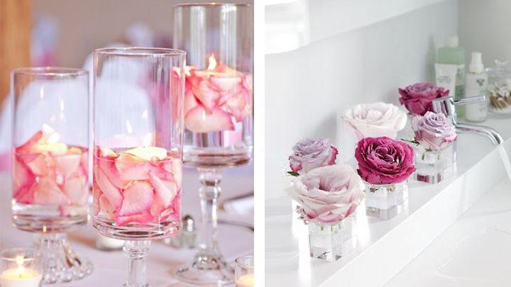 decorar la casa con flores artificiales Decorar con PLANTAS y