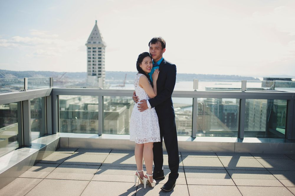 Seattle Courthouse Wedding Photos And