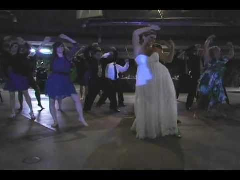 Wedding Reception Thriller Flash Mob With The Lights Out Wild