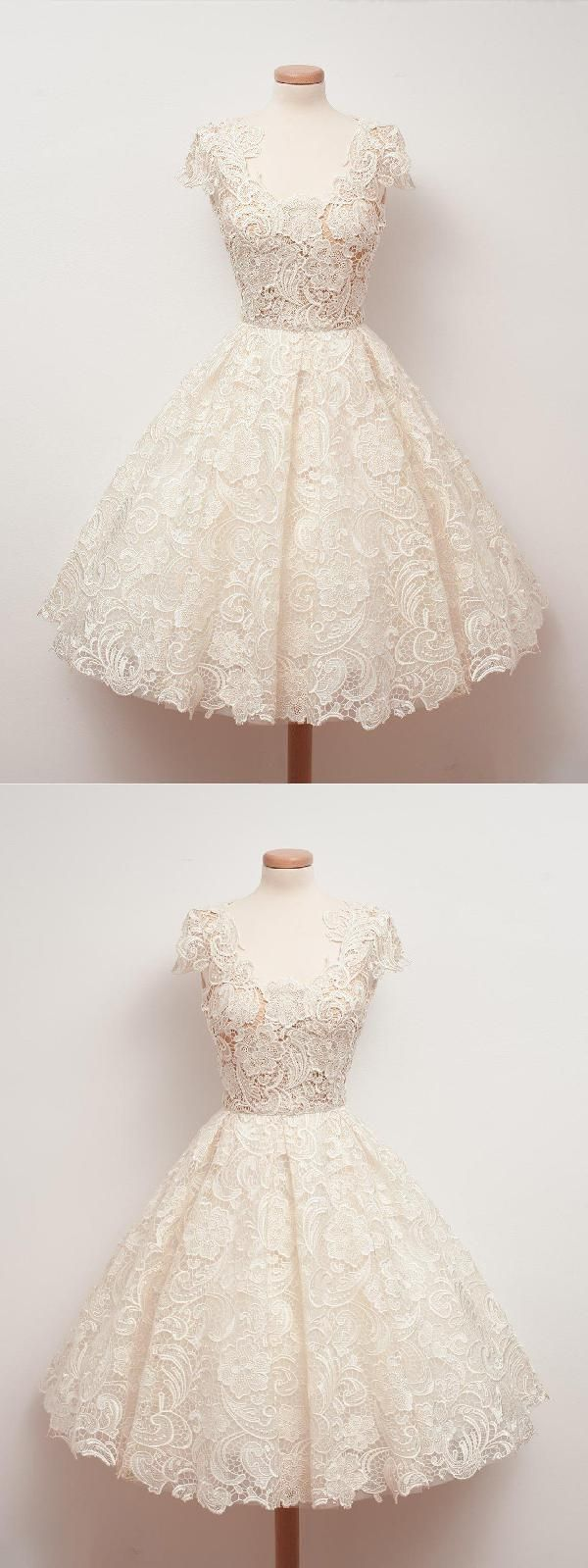 Homecoming dresses lace homecomingdresseslace ivory homecoming