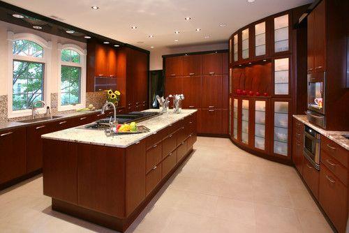 Custom Contemporary Kitchen - contemporary - kitchen - newark - by Tim Kriebel - KRIEBELDESIGN