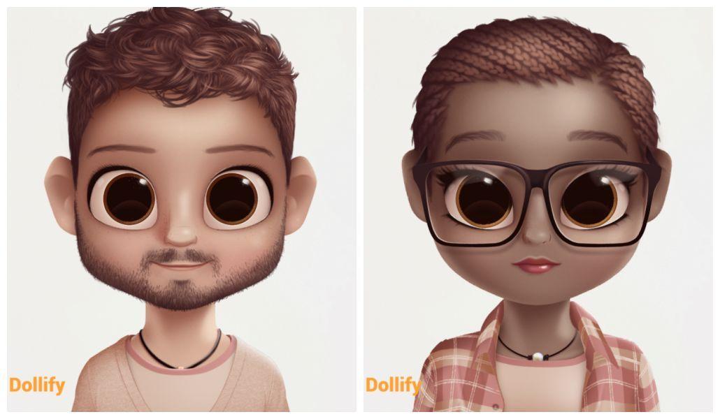 A Febre Do Dollify Aplicativo Para Criar Sua Caricatura Cabecuda