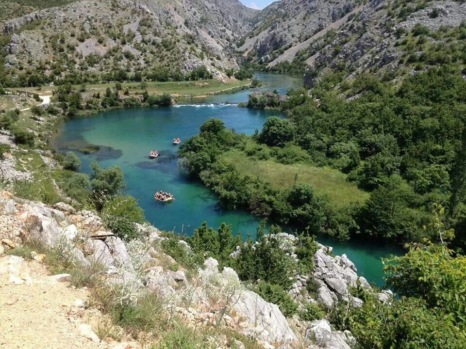 Rijeka,Zrmanja lijepo mijeso za posijetu,Croatia....