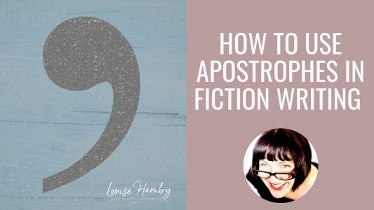 how to use apostrophes in fiction writing a beginner's