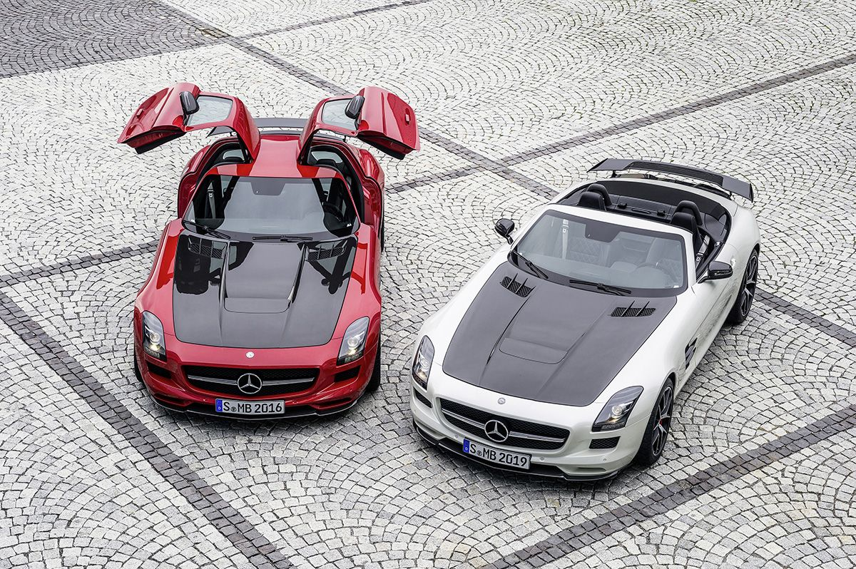 The Mercedes Benz Sls Amg Gt Final Edition The Season Finale