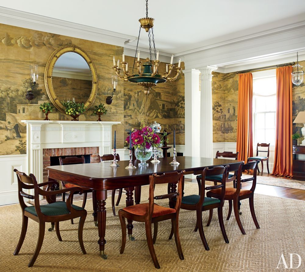 Traditional Dining Room By G. P. Schafer Architect In Dutchess County, New  York